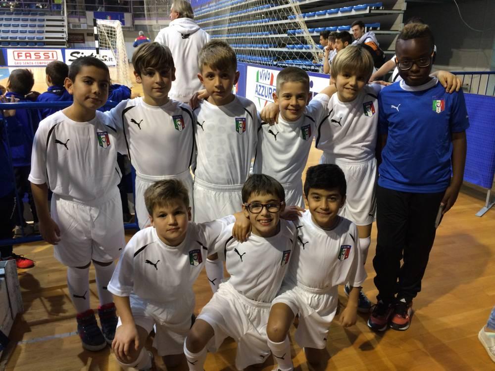 pulcini 2007/2008 a scuola di futsal con la nazionale!!